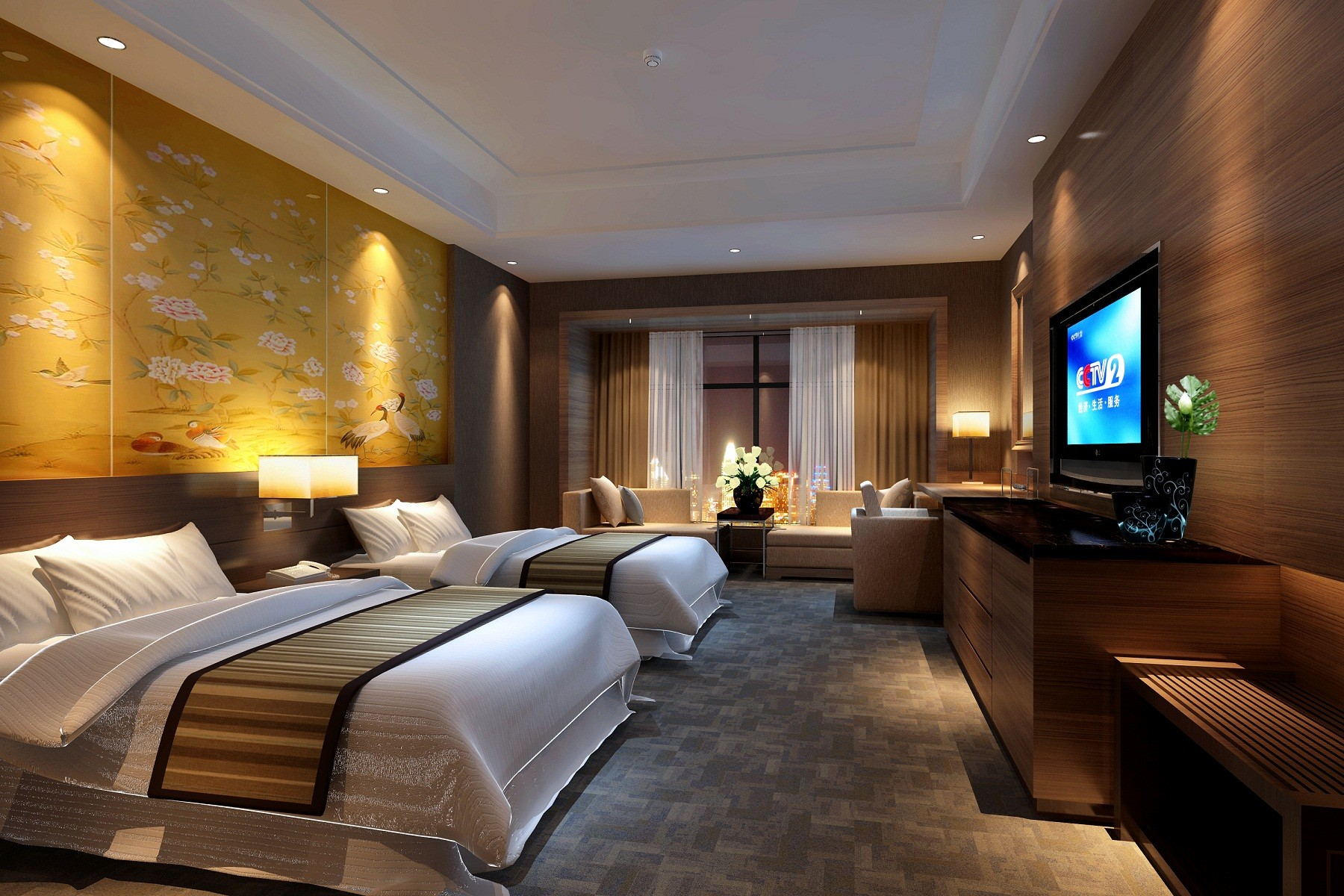 Accommodations for W hotel bedroom designs